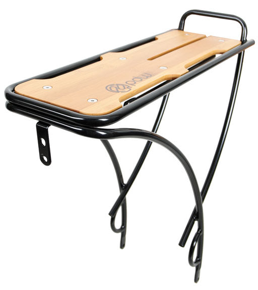 Portland Design Works Payload Rear Steel Rack w/ Bamboo Top