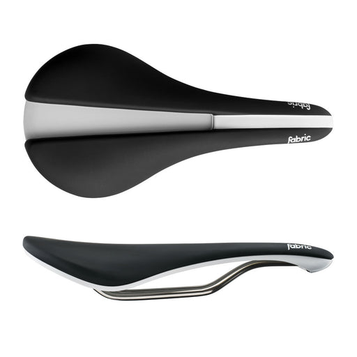Fabric Line Shallow Race Saddle Black/White FP3056U14OS