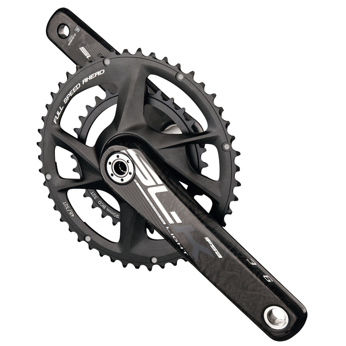 FSA SL-K Modular Cranks, 30/46t - 172.5mm