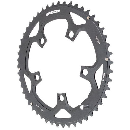 FSA Pro Road Chainring N-10 50t 110mm (use w/34t) Black