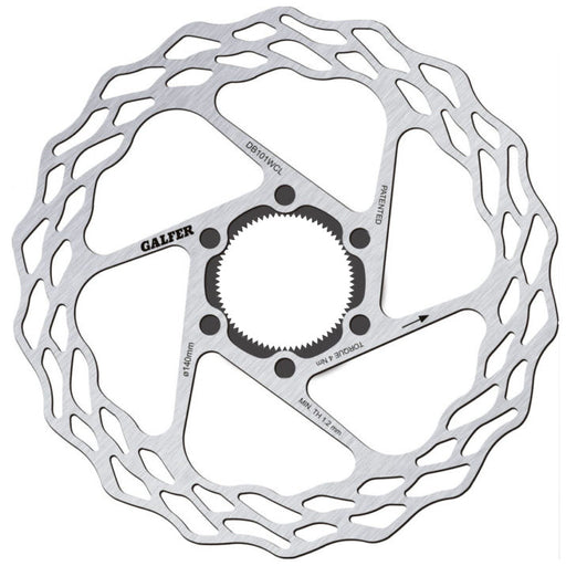 Galfer Wave CL Disc Brake Rotor, 140mm Road