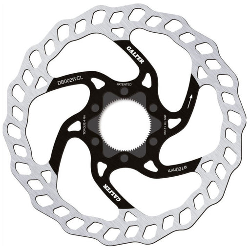 Galfer Wave CL Disc Brake Rotor, 160mm 1.8mm