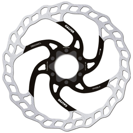 Galfer Wave CL Disc Brake Rotor, 180mm 1.8mm