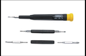 General Tools Precision Swivel-Tip Screwdriver, 4-In-1