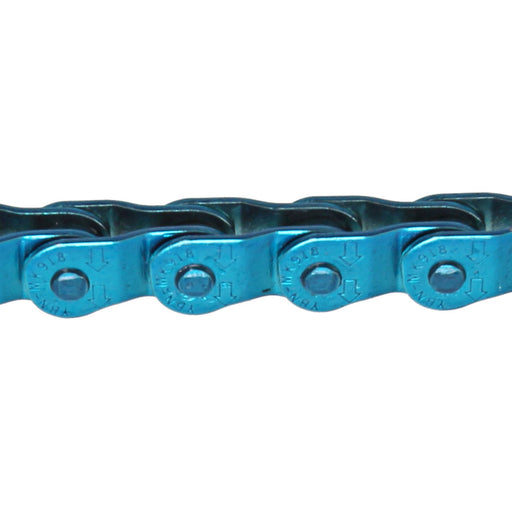 "Gusset Slink Chain, 3/32"" - Translucent Blue"