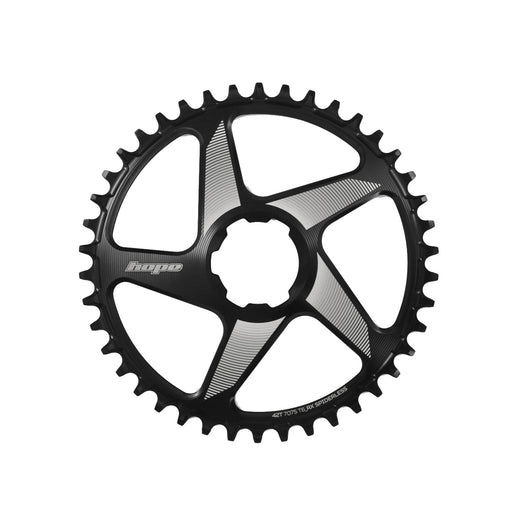 Hope RX Spiderless Chainring, 38T - Black