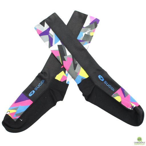 Infinite Cycles Shardnado Tall Cycling Socks Unisex Large