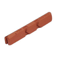 Kool-Stop Linear Pull Replacement Brake Pads Salmon Compound