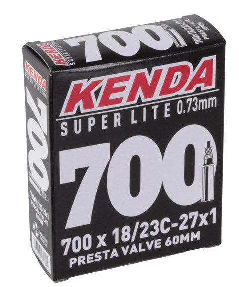 Kenda Super Light tube, 700 x 18-23c Presta Valve/33mm