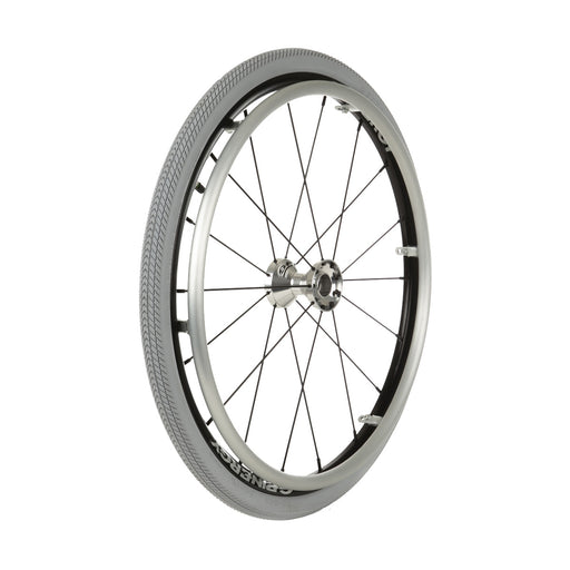 "Kenda K1079P Wheelchair Tire, 24 x 1-3/8"" Grey"