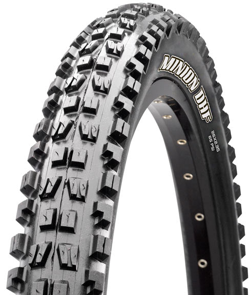 Maxxis Minion DHF Tire: 26 x 2.30 Folding 60tpi Dual Compound EXO Tubeless