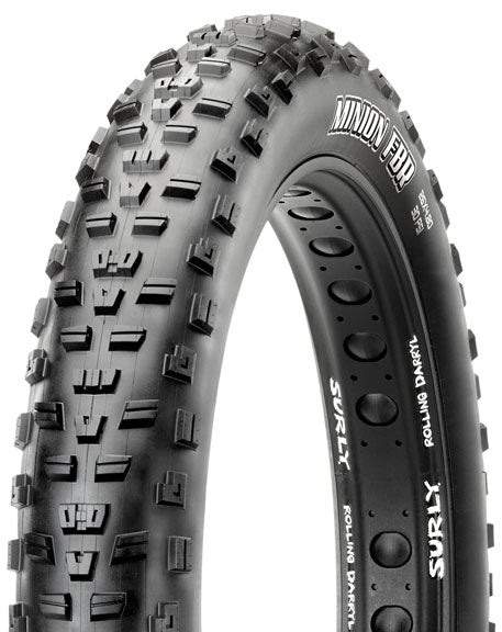 Maxxis Minion FBR Tire: 26 x 4.80 Folding 120tpi Dual Compound EXO Tubeless