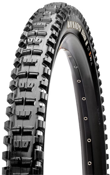 Maxxis Minion DHR II Tire: 26 x 2.30 Folding 60tpi Dual Compound EXO