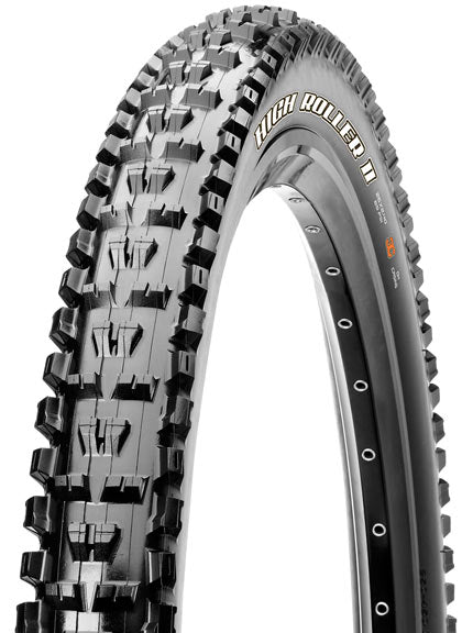Maxxis High Roller II Tire: 27.5 x 2.80 Folding 60tpi Dual Compound EXO