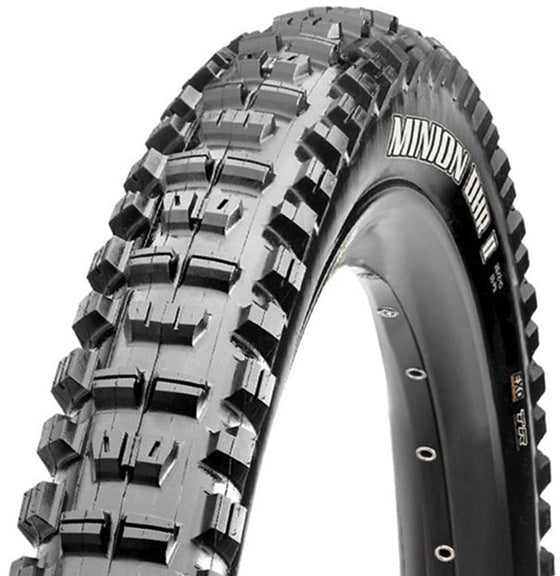 Maxxis Minion DHR II Tire: 27.5 x 2.60 Folding 60tpi Dual Compound EXO
