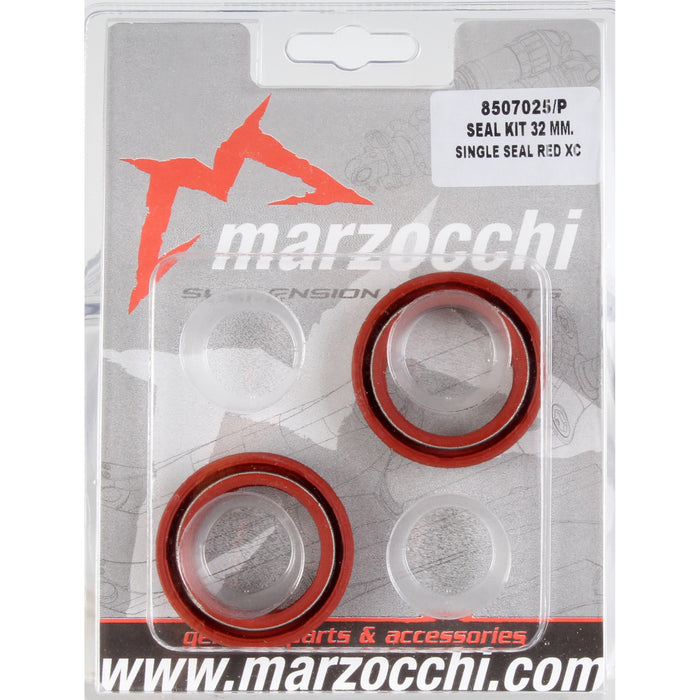 Marzocchi Seal/Wiper Kit, 2003+ Marz 51mm Rake (32mm Red)