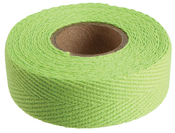 Newbaum's Cloth bar tape, lime green - each