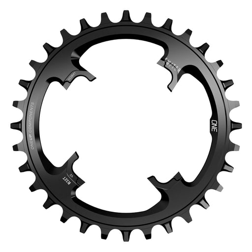 OneUp Components Switch Round V2 12sp Chainring, 28t - Black