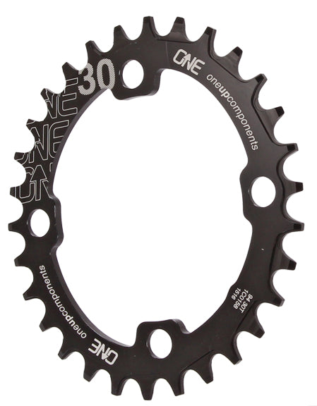 OneUp Components 94 oval chainring, 94BCD 30T - black