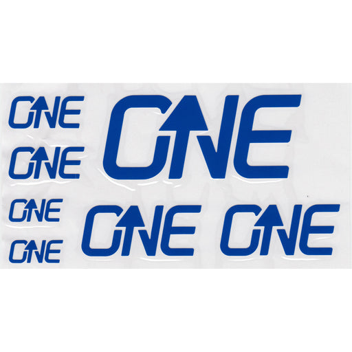 OneUp Components Riser Bar Decal Kit- Blue