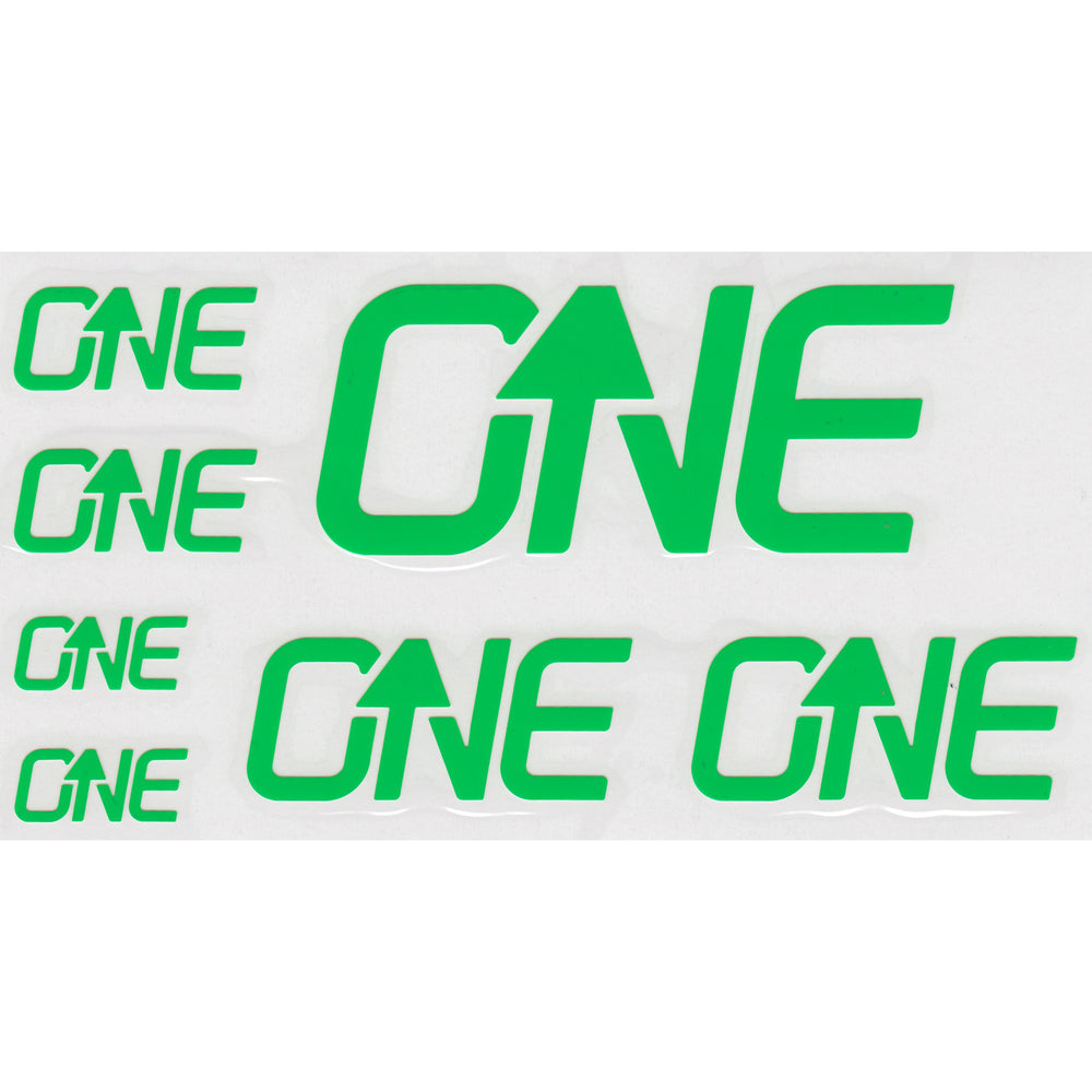 OneUp Components Riser Bar Decal Kit- Green
