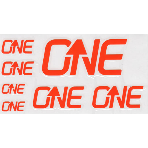 OneUp Components Riser Bar Decal Kit- Orange