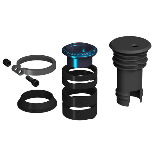 OneUp Components EDC Stem Cap and Preload Kit, Blue
