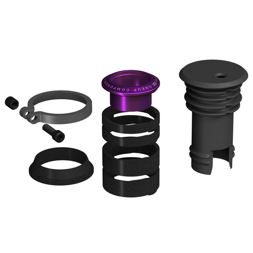 OneUp Components EDC Stem Cap and Preload Kit, Purple