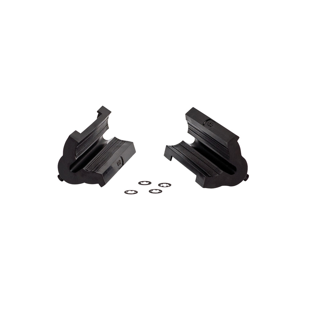 Park Tool 468B Rubber Clamp Cover with Double Cable Grooves: Pair