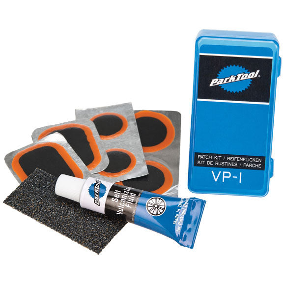 Park Tool VP-1 Vulcanizing Bicycle Inner Tube Patch Kit w/ 6 Patches