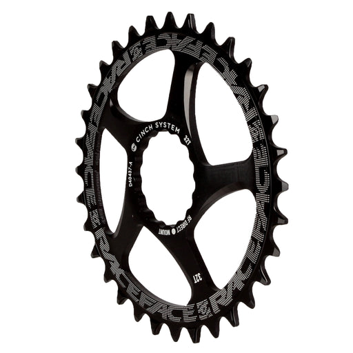 RaceFace Narrow Wide Chainring: Direct Mount CINCH 32t Black