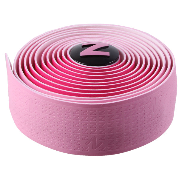 Red Monkey Z-Attack dual color handlebar tape, pink and dark pink
