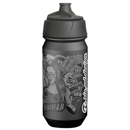 Rie:sel Design Sport Bottle, Stickerbomb Ultra Black MKII