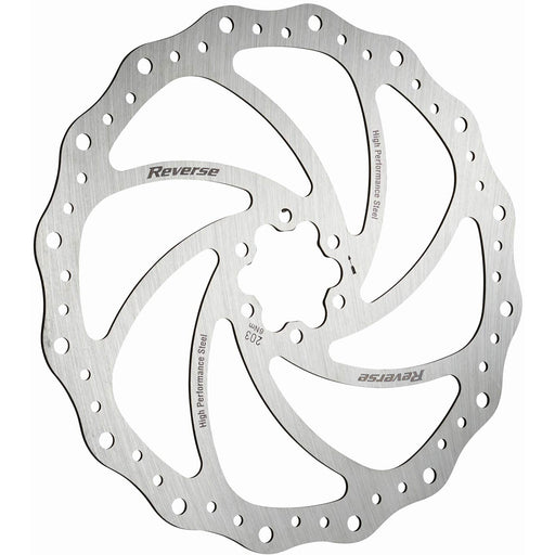 Reverse Steel Disc Rotor, 203mm - Silver