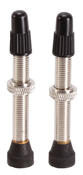 Spank Tubeless Presta Valves, 40mm - Pair