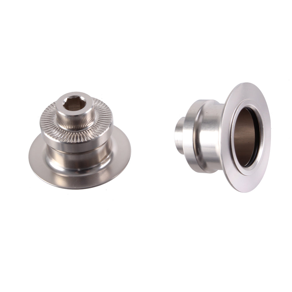 SunRingle SRD/Pro end cap kit, rear - 10x135mm Q/R - silver