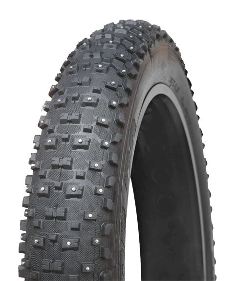 Vee Tire Co. Snowshoe XL Studded Fat Bike Tire: 26 x 4.8 120tpi Folding Bead