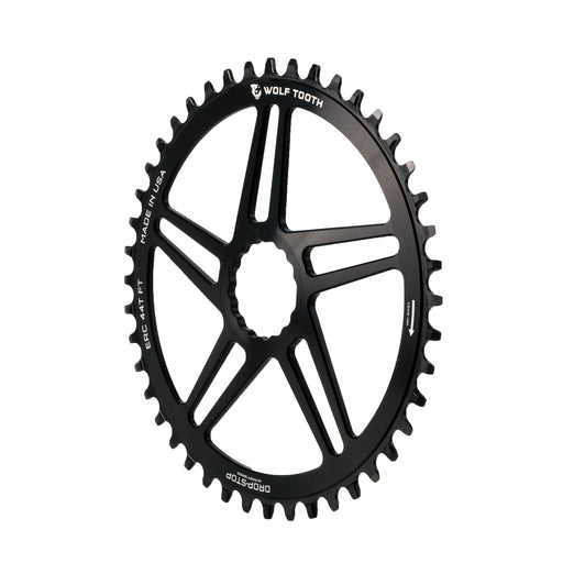 Wolf Tooth Components Cinch CX/Road (Flat Top) Direct Mount Ring, 44T - Bk