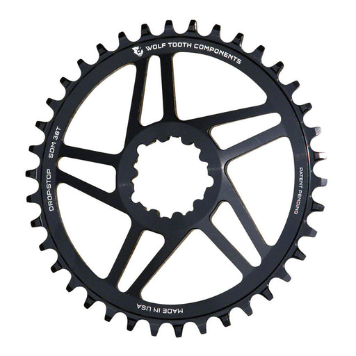 Wolf Tooth Components CX/Gravel SRAM (Flat Top) Direct Mount Ring, 40T - Blk