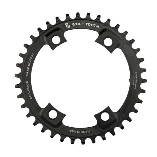 Wolf Tooth Components 40T Drop-Stop Chainring: for Shimano Road 110