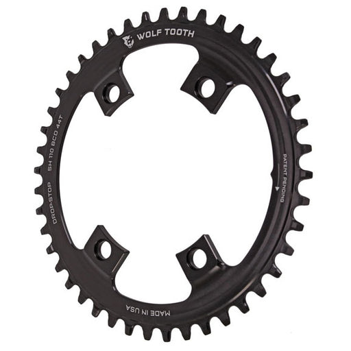 Wolf Tooth Components Drop-Stop Chainring: 44T x Shimano Asymmetric 110