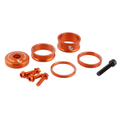 Wolf Tooth Components Anodized Bling Kit - Orange