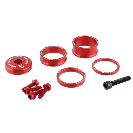 Wolf Tooth Components Anodized Bling Kit - Red