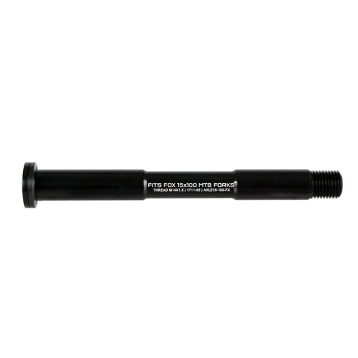 Wolf Tooth Components Fox replacement axle, 15x100mm - black