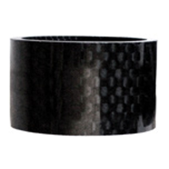 "Wheels Mfg Carbon headset spacer, 1-1/8"" x 20mm"