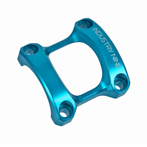Industry Nine A35 Stem Face Plate, Turquoise