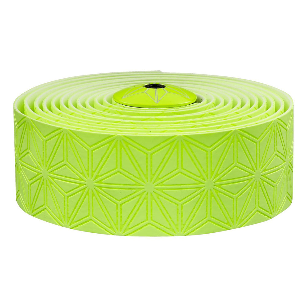 Supacaz Super Sticky Kush handlebar tape, neon yellow