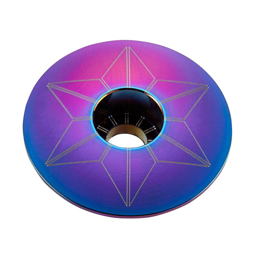 Supacaz Oil Slick Star Cap
