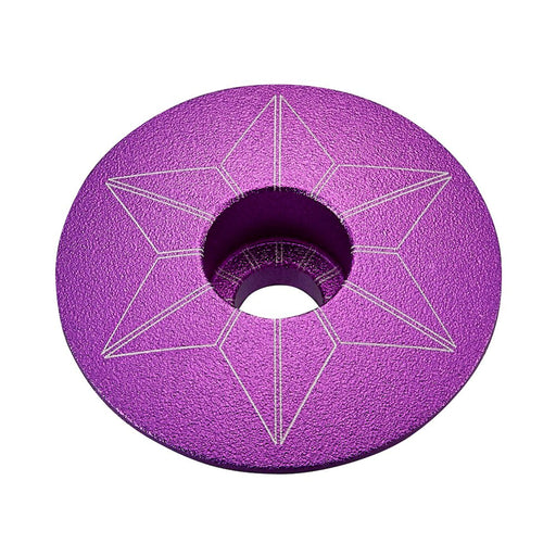 Supacaz Purple Anodized Star Cap