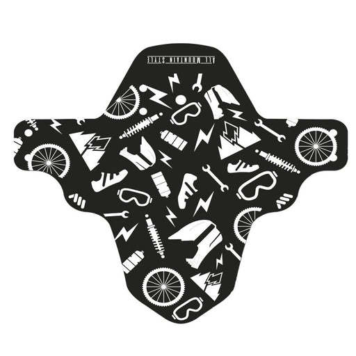 All Mountain Style Mud Guard, Joy Ride/White